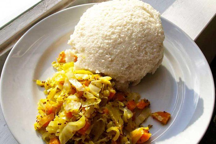 کنیا و غذای پرطرفدار اوگالی