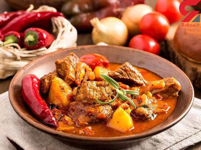 گویاش (Goulash) محبوبترین غذای مجارستان