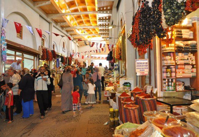 بازار مرعش از بهترین بازارهای معروف ترکیه