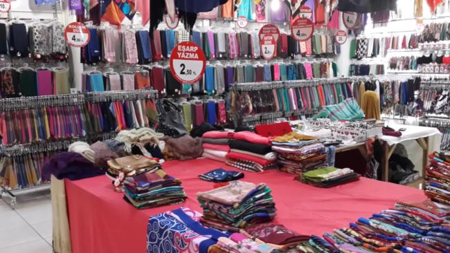 بازار زیبای اولوس در ترکیه