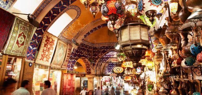 بازار معروف کاپالی چارشی در ترکیه
