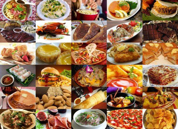 بهترین غذاهای معروف دنیا