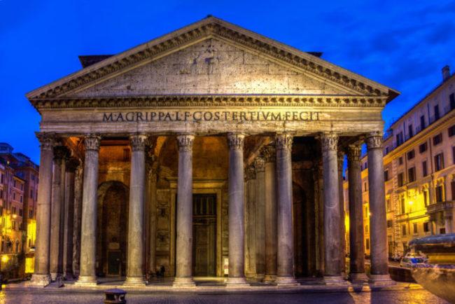 بهترین مکان دیدنی ایتالیا pantheon