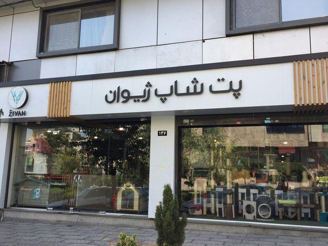 پت شاپ ژیوان بزرگترین پت شاپ تهران