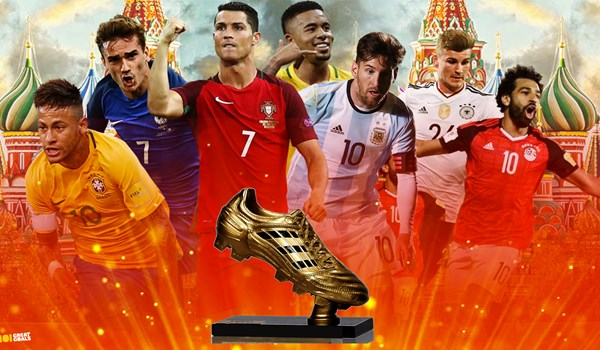 بهترین اقای گل جام جهانی 2018