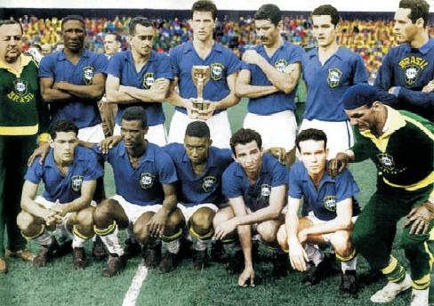 خاطره انگیزترین دوره جام جهانی در سال 1958 با قهرمانی برزیل