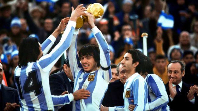 آرژانتین برنده نهایی جام جهانی در سال 1978