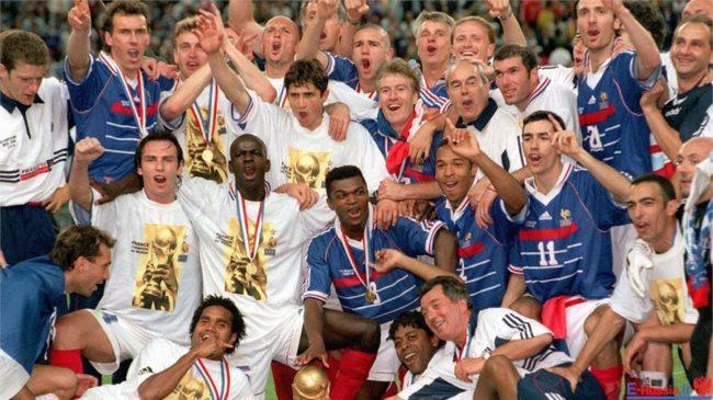 فینال حماسه ساز برای فرانسه در سال 1998