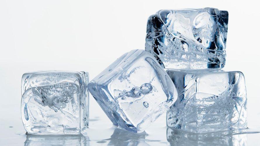 شادابی پوست با کمپرس یخ