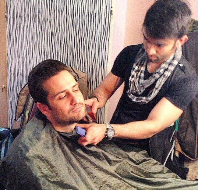 آرایشگاه داماد حامد کردستانی در مشهد