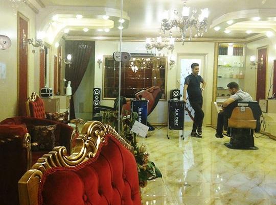 آرایشگاه من استار از معروف ترین آرایشگاه های مشهد