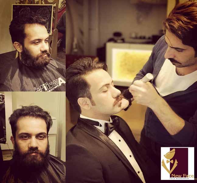 آرایشگاه نیو فیس معروف ترین سالن آرایش مردانه در مشهد