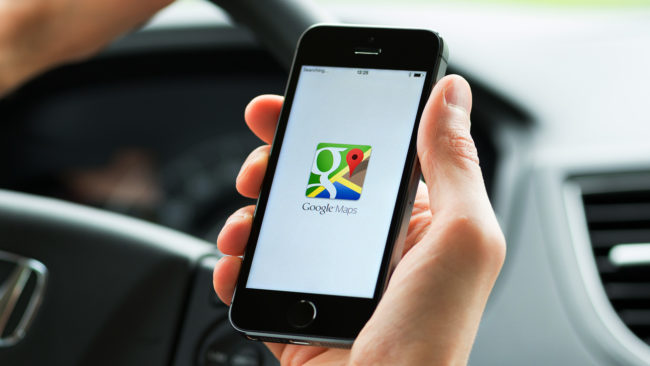 اشتراک گذاشتن موقعیت در گوگل مپ چگونه است؟