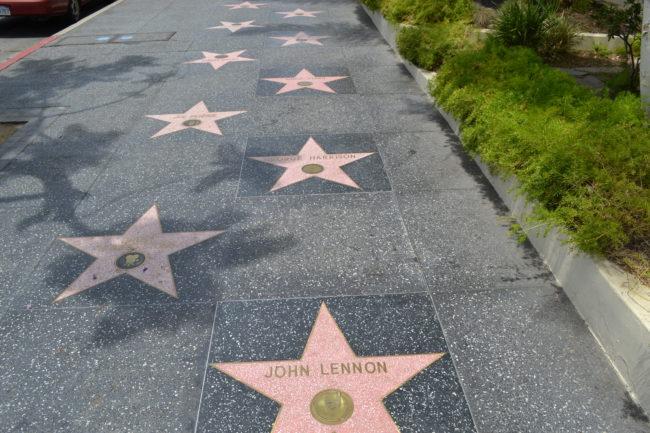 خیابان هالیوود (Hollywood Walk of Fame) خیابان مشاهیر و هنرمندان