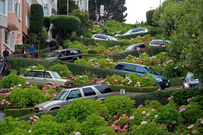 خیابان لامبارد (Lombard Street) از معروف ترین خیابان های دنیا