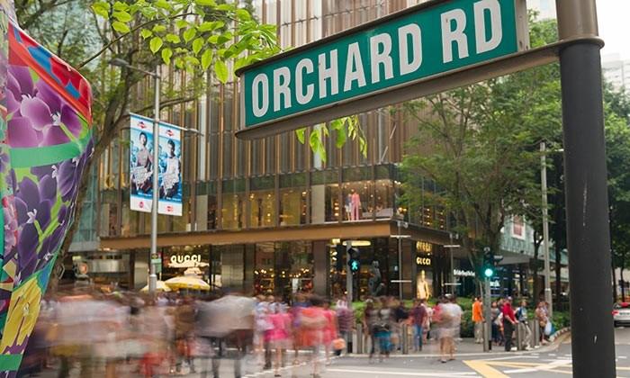 خیابان اورکارد (Orchard Road) از خیابان های معروف و زیبا