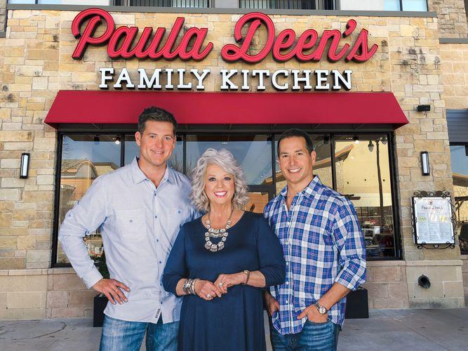 پائولا دین محبوب ترین سرآشپز زن آمریکایی