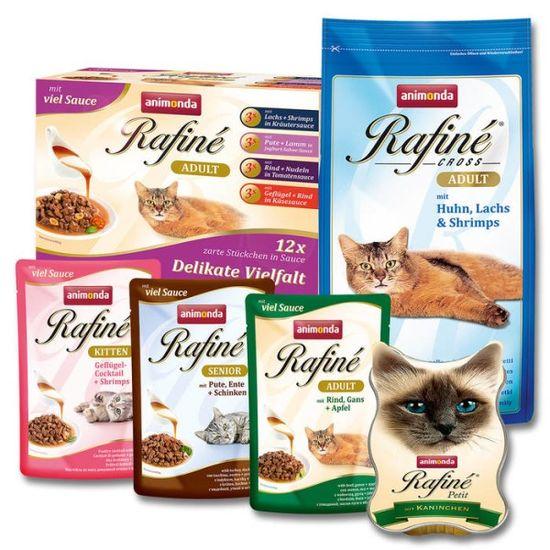 غذای گربه رافینه