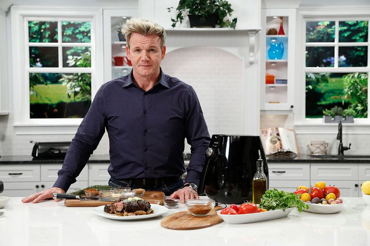 گوردون رمزی معروف ترین سرآشپز دنیا