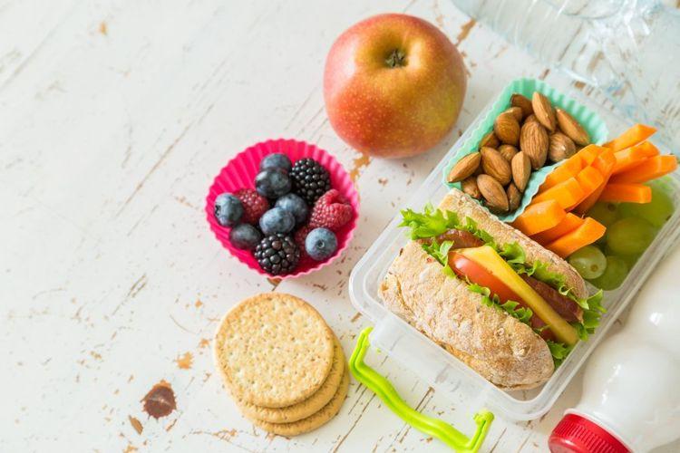 تاثیر خوردن خوراکیهای سالم در کاهش وزن