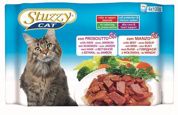 غذای گربه استازی