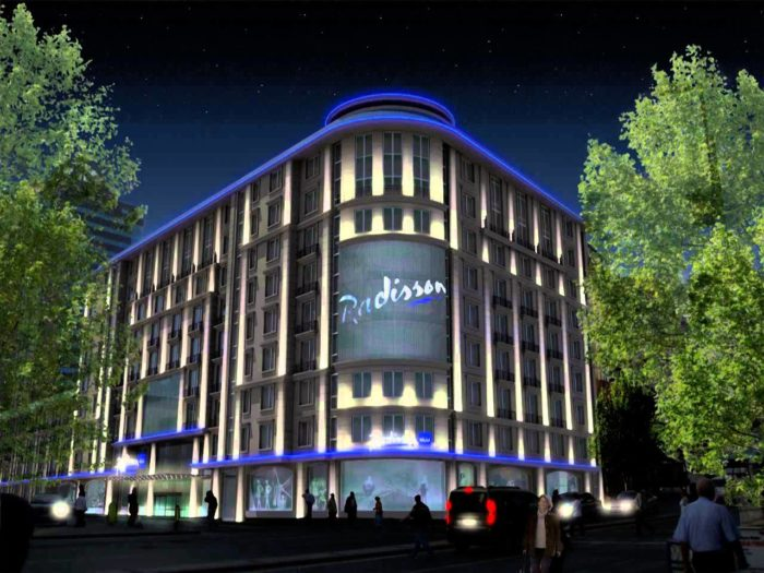 هتل رادیسون بلو، شیشلی استانبول (Radisson Blu Hotel, Istanbul Sisli)