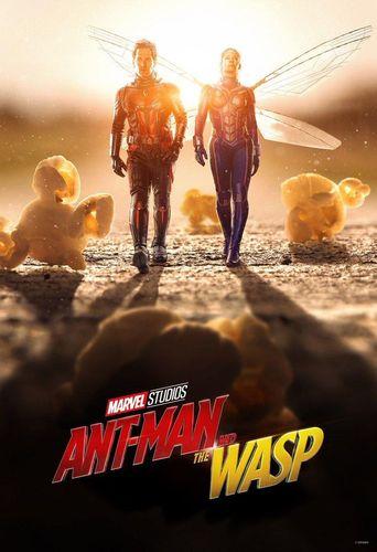 فیلم اکشن مرد مورچهای و زنبورک
