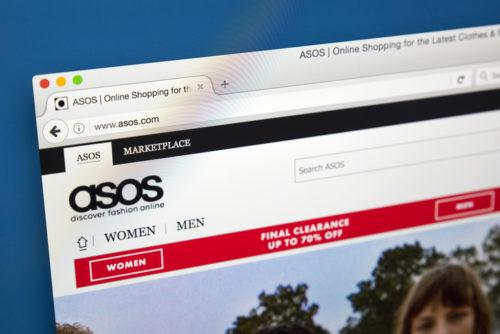 فروشگاه اینترنتی Asos از بزرگ ترین فروشگاه های اینترنتی