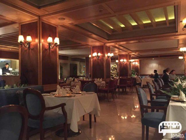 رستوران بیستانگو یکی از شیکترین رستوران های فرانسوی تهران