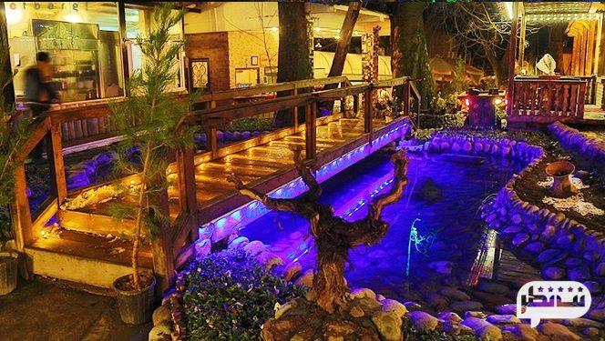 رستوران البرز با فضایی زیبا و دلنشین در شمال تهران
