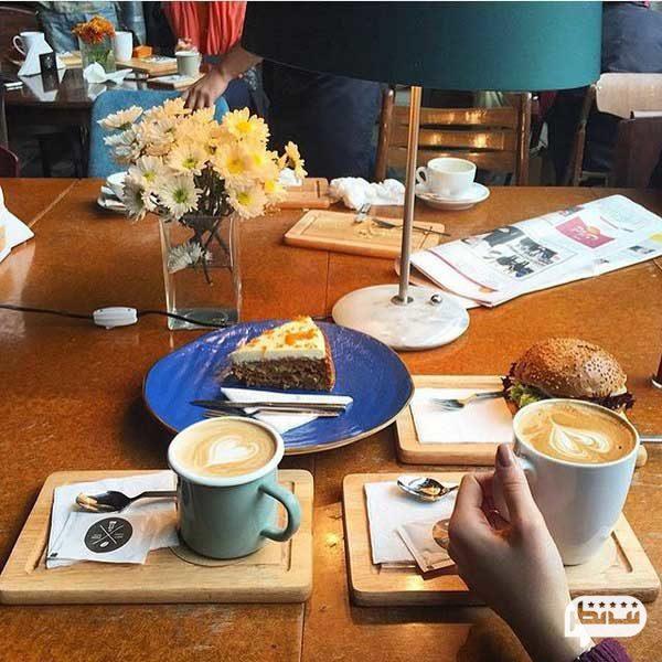 سام کافه از بهترین کافه های پایتخت