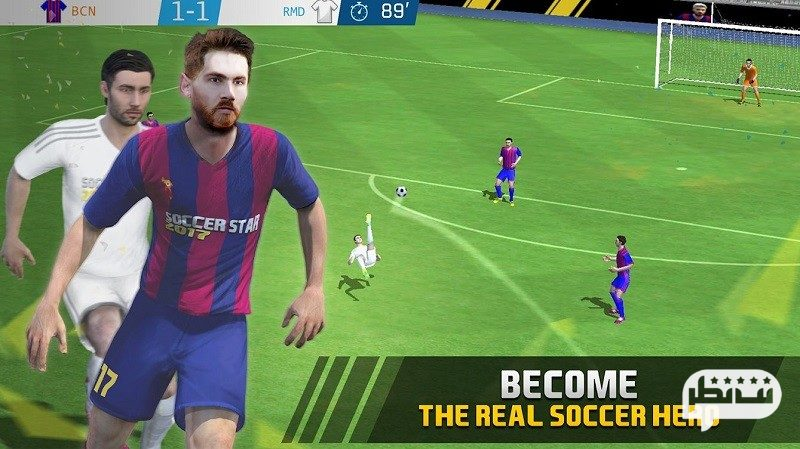 بهترین بازی فوتبال 2018 برای موبایل