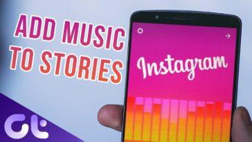 آموزش گذاشتن آهنگ روی عکس در اینستاگرام