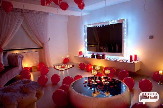 خانه ای رمانتیک و عاشقانه بهترین هدیه سالگرد ازدواج