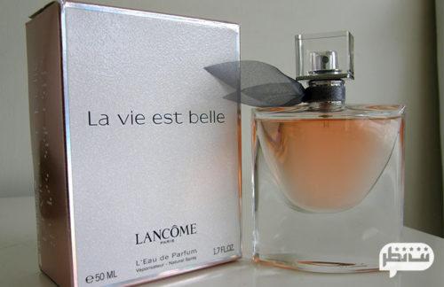 Lancome La Vie Est Belle .3 ( لانکوم) از معروف ترین ادکلن های خوشبوی زنانه