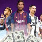 پر درآمدترین بازیکنان فوتبال