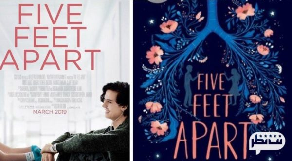 فیلم عاشقانه زیبای درام-Five Feet Apart