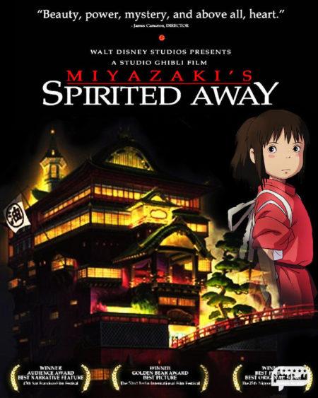 شهر اشباح (2001-Spirited Away) از انیمه های سینمایی پرطرفدار