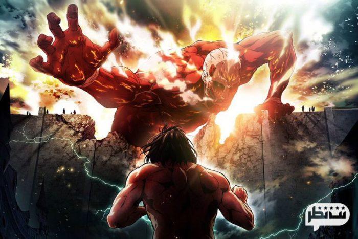 انیمیشن حمله به تایتان (2013-Attack on Titan) پر افتخارترین انیمه نیمه اکشن