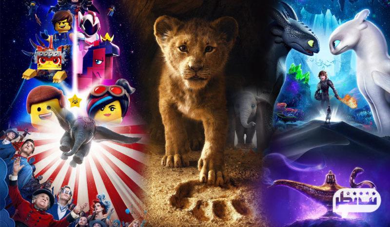 بهترین انیمیشنهای 2019