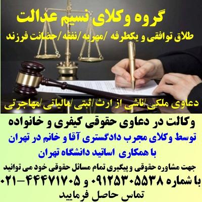 گروه وکلای نسیم عدالت