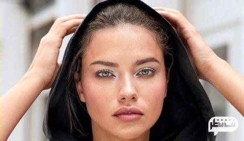 یکی از زیباترین مانکن های جهان آدریانا لیما