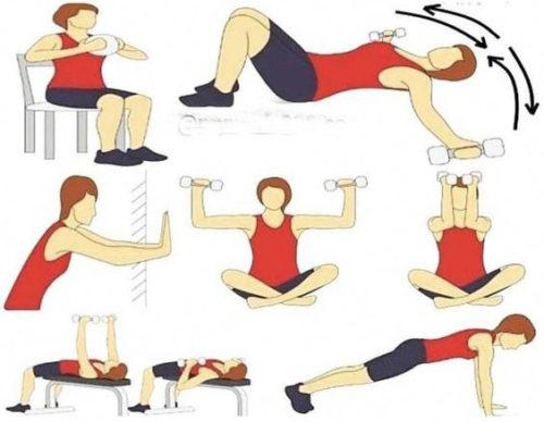 ورزش کردن از بهترین روش های بزرگ کردن سینه