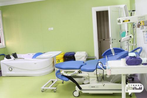 بیمارستان نیکان از بیمارستان های مجهز و مدرن برای سزارین