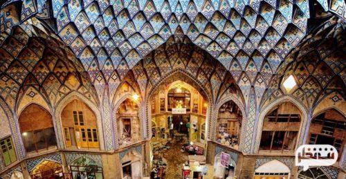 بازار قیصریه از معروف ترین بازارهای عصر صفوی