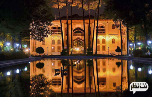 عمارت هشت بهشت مکانی تاریخی و زیبا برای توریست ها