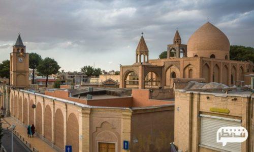 محله جلفا از مکان های خیره کننده و تماشایی در اصفهان