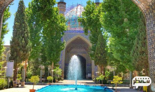 مدرسه چهار باغ از باشکوه ترین جاذبه های دیدنی در اصفهان