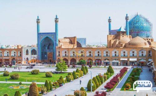 مسجد امام یکی از مساجد میدان نقش جهان