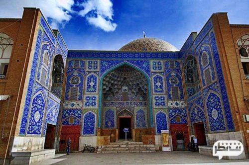 مسجد شیخ لطف الله از دیدنی ترین مکان های اصفهان